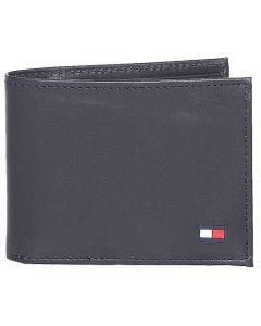 Tommy Hilfiger Leather Men's Wallet - Navy