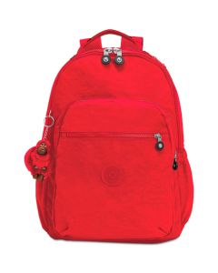 Kipling Seoul Go Large Backpack - Red