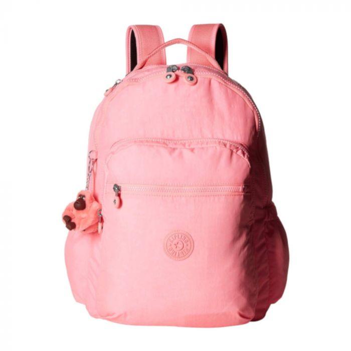 Kipling Seoul Go Backpack- Conversation Pink
