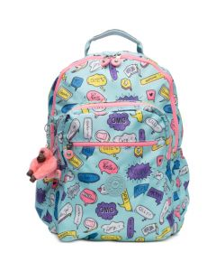 Kipling Seoul Go Backpack- Talking Bubbles