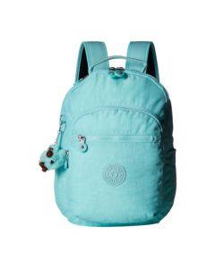 Kipling Seoul Go Backpack- Fresh Teal