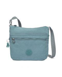 Kipling Arto Crossbody Bag - Aqua Frost/Silver