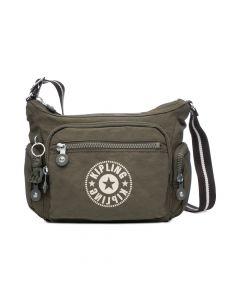 Kipling New Classics Gabbie Small Crossbody Bag - Jaded Green/Silver