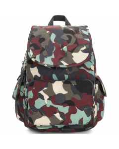 Kipling City Pack Solid Backpack - Camo Leather