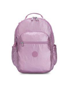 Kipling Seoul Small Backpack Metallic