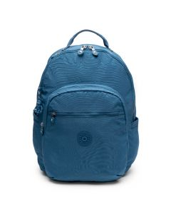 Kipling Seoul Xl Backpack  W/Laptop Sleeve Mystic Blue