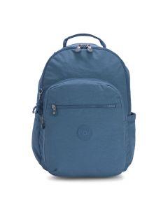 Kipling Seoul Large Backpack W/Laptop Sleeve - Mystic Blue