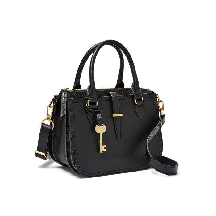 Fossil Ryder Mini Satchel Handbag - Black