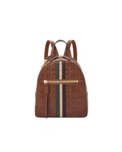 Fossil Megan Leather Backpack - Brown Multi