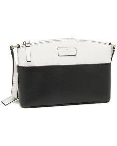 Kate Spade New York Grove Street Millie Leather Shoulder Handbag - Black/Cement