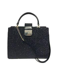 Kate Spade Kirin Sunset Lane Glitter Bag - Black