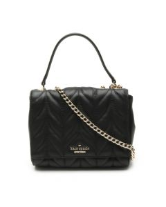 Kate Spade Mini Emelyn Briar Lane Quilted Crossbody Bag- Black