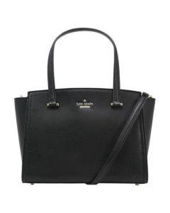 Kate Spade Small Geraldine Patterson Crossbody Bag- Black