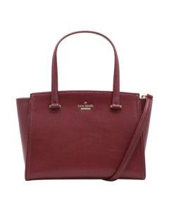Kate Spade Small Geraldine Patterson Crossbody Bag- Black Cherry