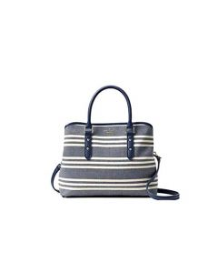 Kate Spade Larchmont Avenue Fabric Stripe Evangelie - Navy