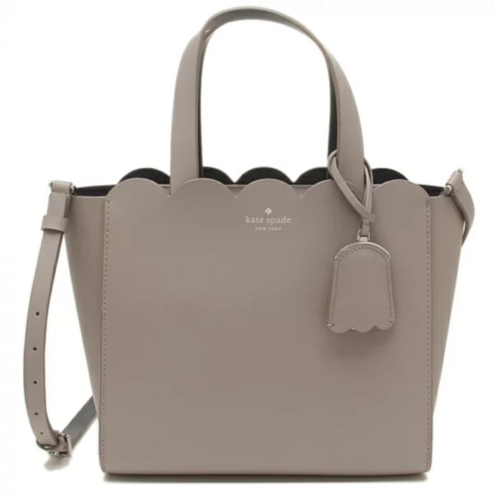 Kate Spade New York Magnolia Street Mini Shoulder Bag- Grey Beige