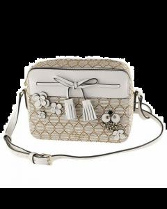 Kate Spade Hayes Bee Embellished Camera Bag - Natural