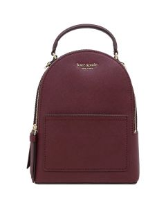 Kate Spade Cameron Mini Convertible Leather Backpack - Cherry