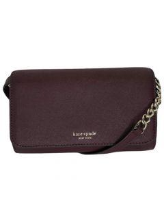 Kate Spade Cameron Small Flap Crossbody Bag - Cherrywood