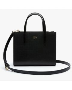Lacoste Women Chantaco Small Shopper Bag - Black