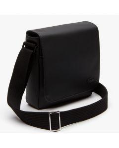 Lacoste Classic Petit Pique Flap Men's Bag - Black