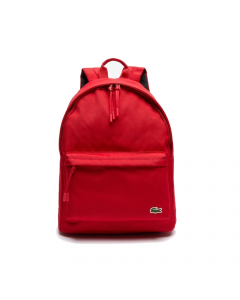 Lacoste Neocroc Classic Solid Backpack - Red