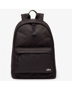 Lacoste Neocroc Classic Solid Backpack - Black