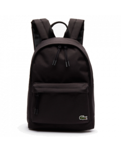 Lacoste Men's Neocroc Small Canvas Backpack - Black