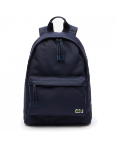 Lacoste Men's Neocroc Small Canvas Backpack - Peacoat