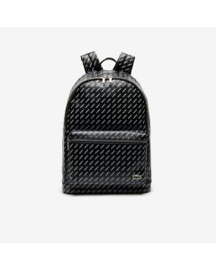 Lacoste Men Live Backpack- All Over Lacoste Black