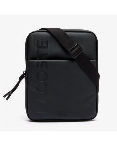 Lacoste Classic L.12.12 Vertical Zip Camera Bag -  Black