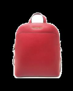 Michael Kors Emmy Large Dome Backpack - Scarlet
