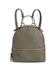 Steve Madden Jacki Convertible Mini Backpack - Olive/Silver