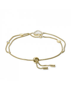 Fossil Bracelet Heart Duo Gold-Tone Stainless Steel