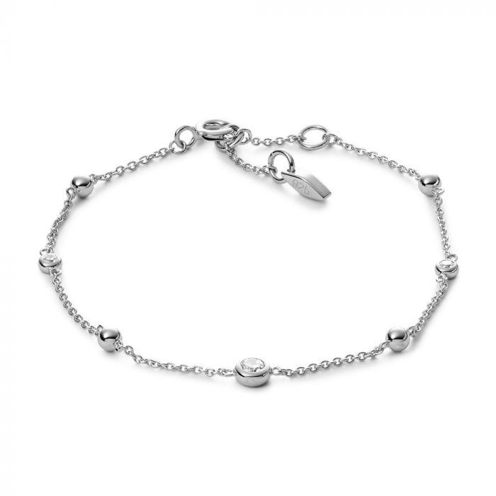 Fossil Bracelet Woman Jewellery Fossil Sterling Silver