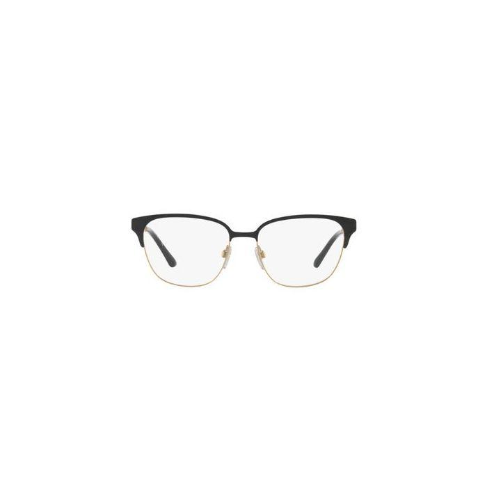 Burberry BE1313Q Square Eyeglasses - Black/Light Gold