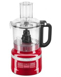 KitchenAid KFP0718ER 7-Cup Food Processor Chop - Puree - Shred and Slice - Empire Red