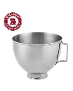 KitchenAid Stainless Steel Bowl K45SBWH - 4.5-Quart - Silver