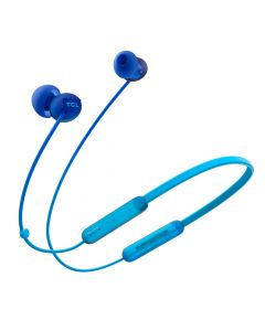 TCL SOCL300BT Wireless Bluetooth in-Ear Earbud Headphones  - Ocean Blue