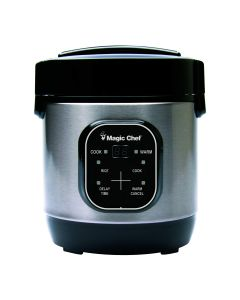 Magic Chef 3-Cup - Mcsrc03St Rice Cooker - Stainless