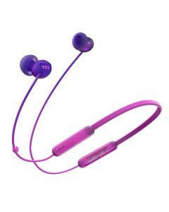 TCL SOCL300BT Wireless Bluetooth in-Ear Earbud Headphones  - Sunrise Purple