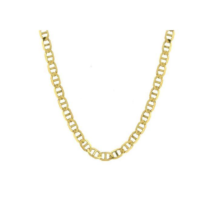 14K Yellow Gold Men's 3.2 Mariner Chain