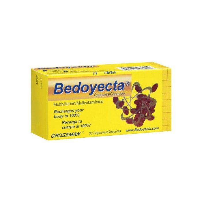 Bedoyecta B Complex Multivitamin 30 Capsules