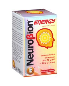 Neurobion Energy Dietary Supplement Capsules - 60 Count
