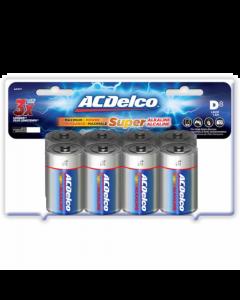 Acdelco 8 D Alkaline Batteries