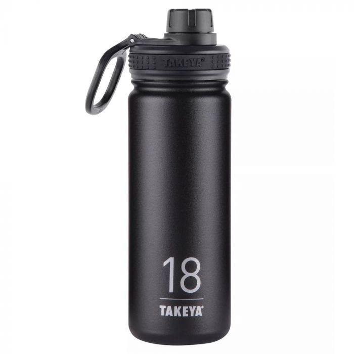 Takeya Originals Stainless Steel Water Bottle 18oz - Black
