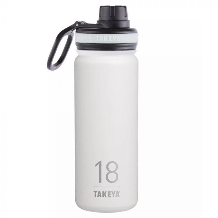 Takeya Originals Stainless Steel Water Bottle 18oz - White