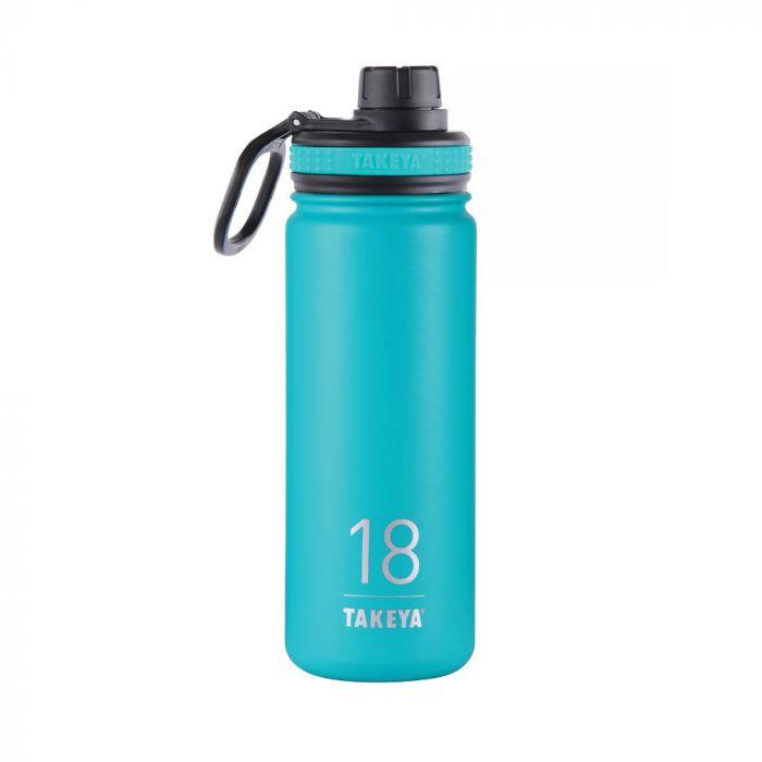 Takeya Originals Stainless Steel Water Bottle 18oz - Teal Blue