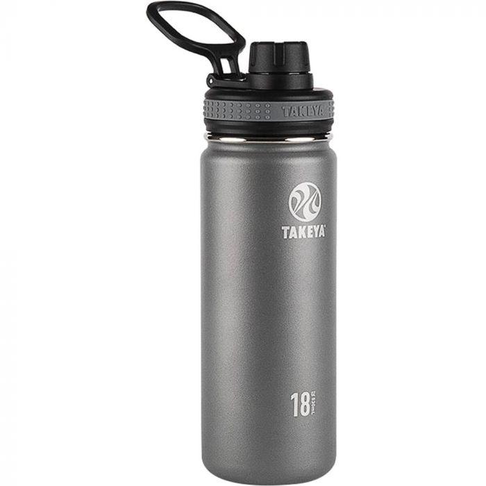 Takeya Originals Stainless Steel Water Bottle 18oz - Graphite