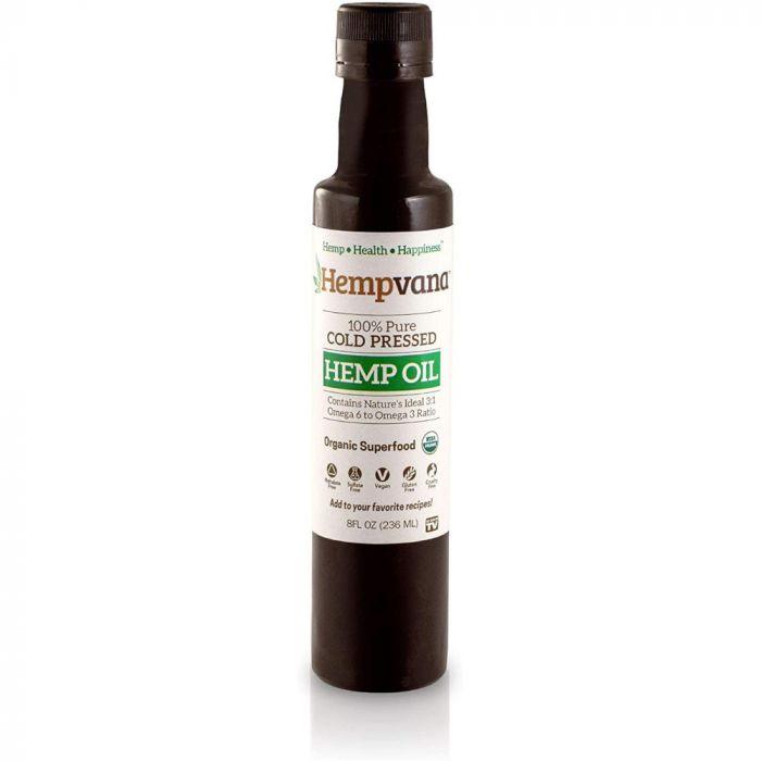 As Seen On TV Hempvana Cold Pressed Hemp Seed Oil